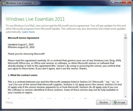 Set up email in Windows Live Mail » Email Support » Support